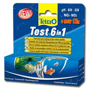 Tetra Тест 6в1 Stripes(25 полосок) Тест